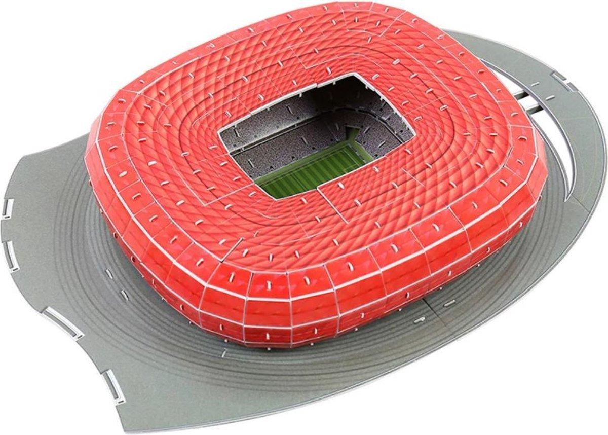 3D-puzzel van bekende voetbalstadiums ALLIANZ ARENA Bayern München.