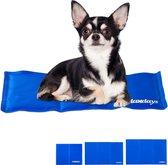 relaxdays koelmat hond - voor honden & katten - verkoelende mat - koeldeken - verkoeling