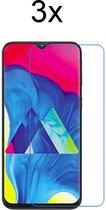 Samsung A40 Screenprotector Glas - 3x Samsung Galaxy A40 Screen Protector Glas