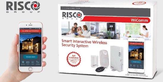 Risco WiComm draadloos alarmsysteem kit 1 (professioneel systeem)