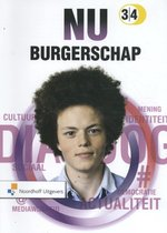 Boek cover NU Burgerschap 3/4 leerwerkboek van Tiddo Ekens (Paperback)