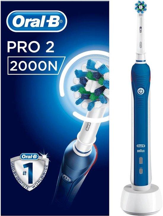 Oral-B Pro 2000 CrossAction - Elektrische Tandenborstel