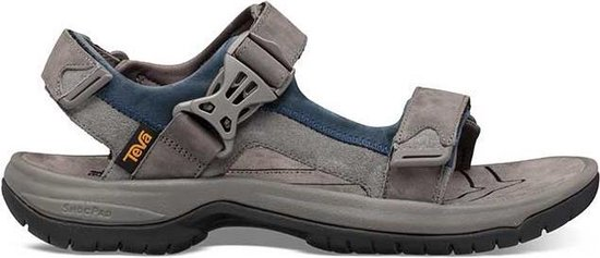 Teva Tanway Leather Heren Wandelsandalen - Grijs - Maat 42