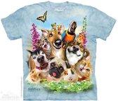 The Mountain KIDS T-shirt Pet Selfie Unisex T-shirt M