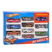 Afbeelding van Hot Wheels Cadeauset met 10 Autos speelgoed