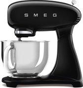 SMEG Keukenmachine SMF03BLEU Keukenmixer - Zwart - RVS