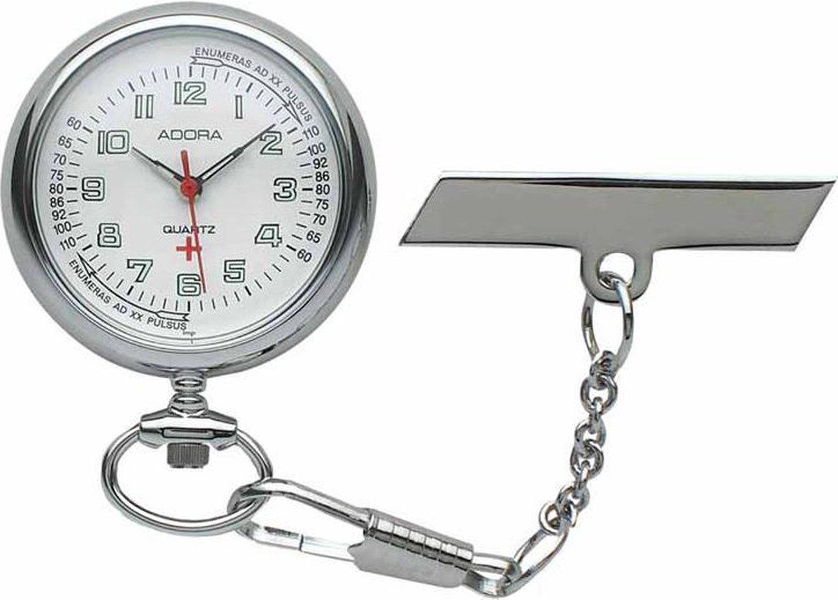 Adora verpleegster horloge SBO,OU zilverkleurig - Adora