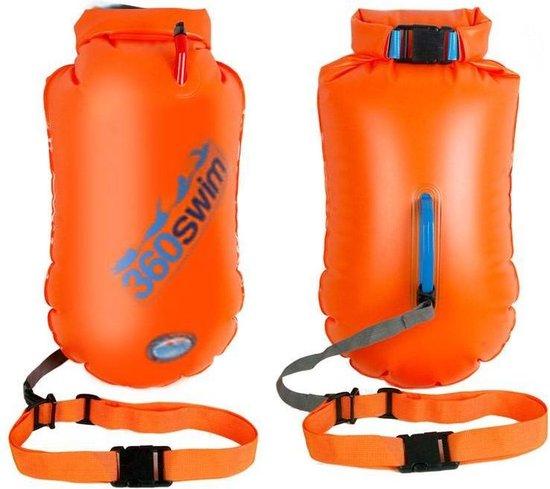 SaferSwimmer Zwemboei Large - Oranje