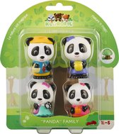 Klorofil Familie Panda Speelfiguren
