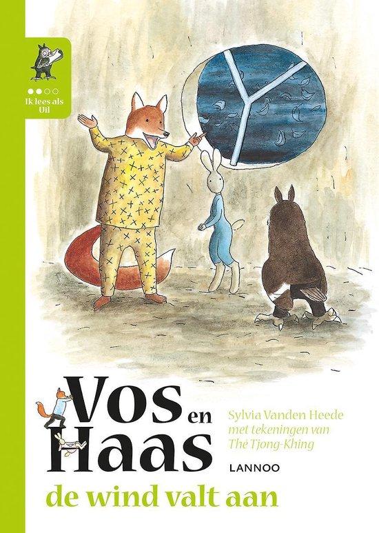 Vos en Haas - De wind valt aan - Sylvia Vanden Heede |