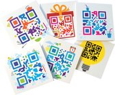 RITME Basisset QR-codes - Dagelijks ritme trainer, Call-to-action app en stickers