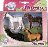 Paarden Kids Globe 4 stuks: schaal 1:32