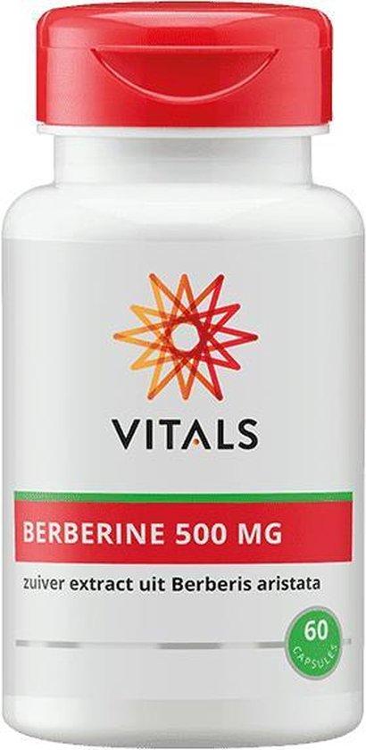 vitals BERBERINE 500 MG 60 CAPSULES
