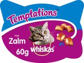 Whiskas Temptations Zalm 60g 1x8