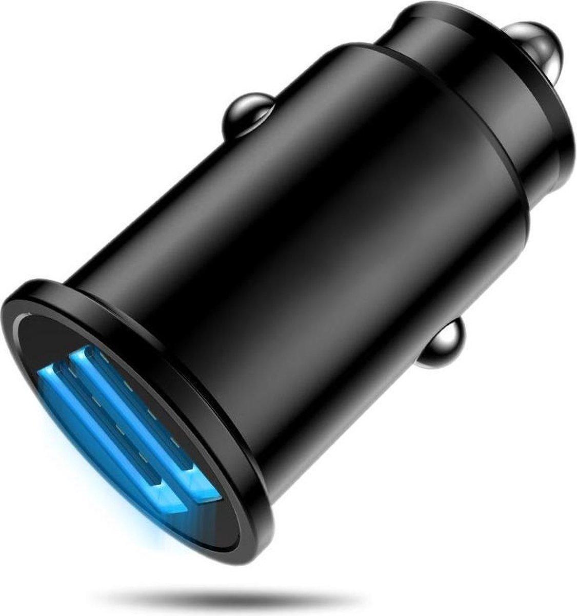 MMOBIEL Multi Compacte 2.0 Auto Lader Oplader - Dual USB Port Sigaretten Aansteker - voor Elektronis