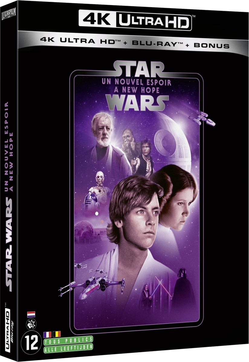 Star Wars Episode IV: A New Hope (4K Ultra HD Blu-ray) (Import zonder NL)-