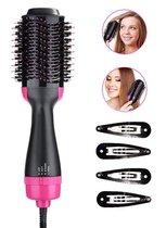 OneStep Goodslife Hair Dryer - Föhnborstel - Incl. 4 Haarspelden - Haarsyler & Kruller - Volume & Verzorgend