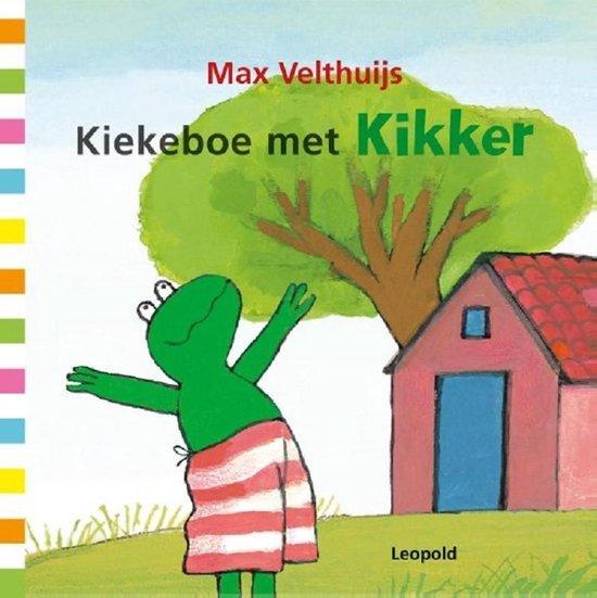 Kikker - Kiekeboe met Kikker - Max Velthuijs |
