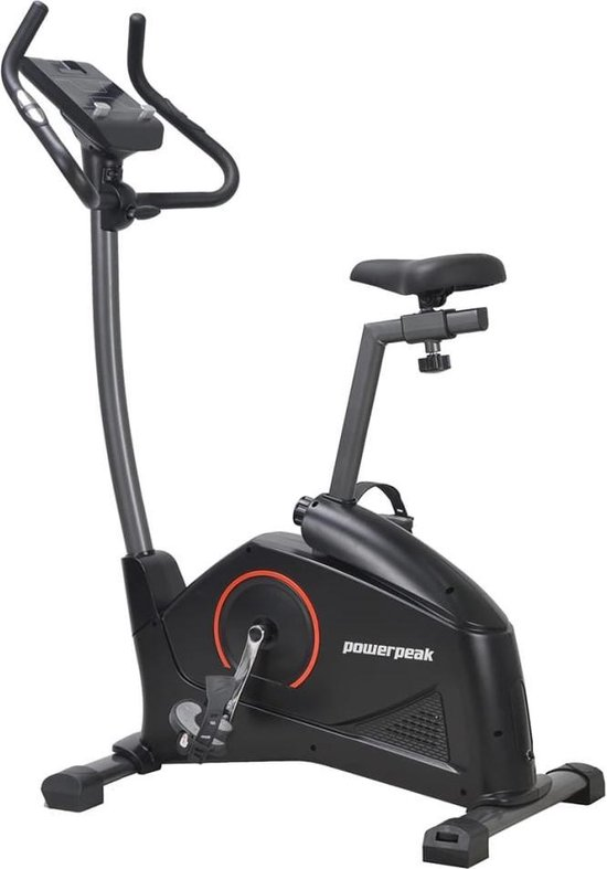 Powerpeak Magnetische hometrainer met app 9 kg zwart FHT8400