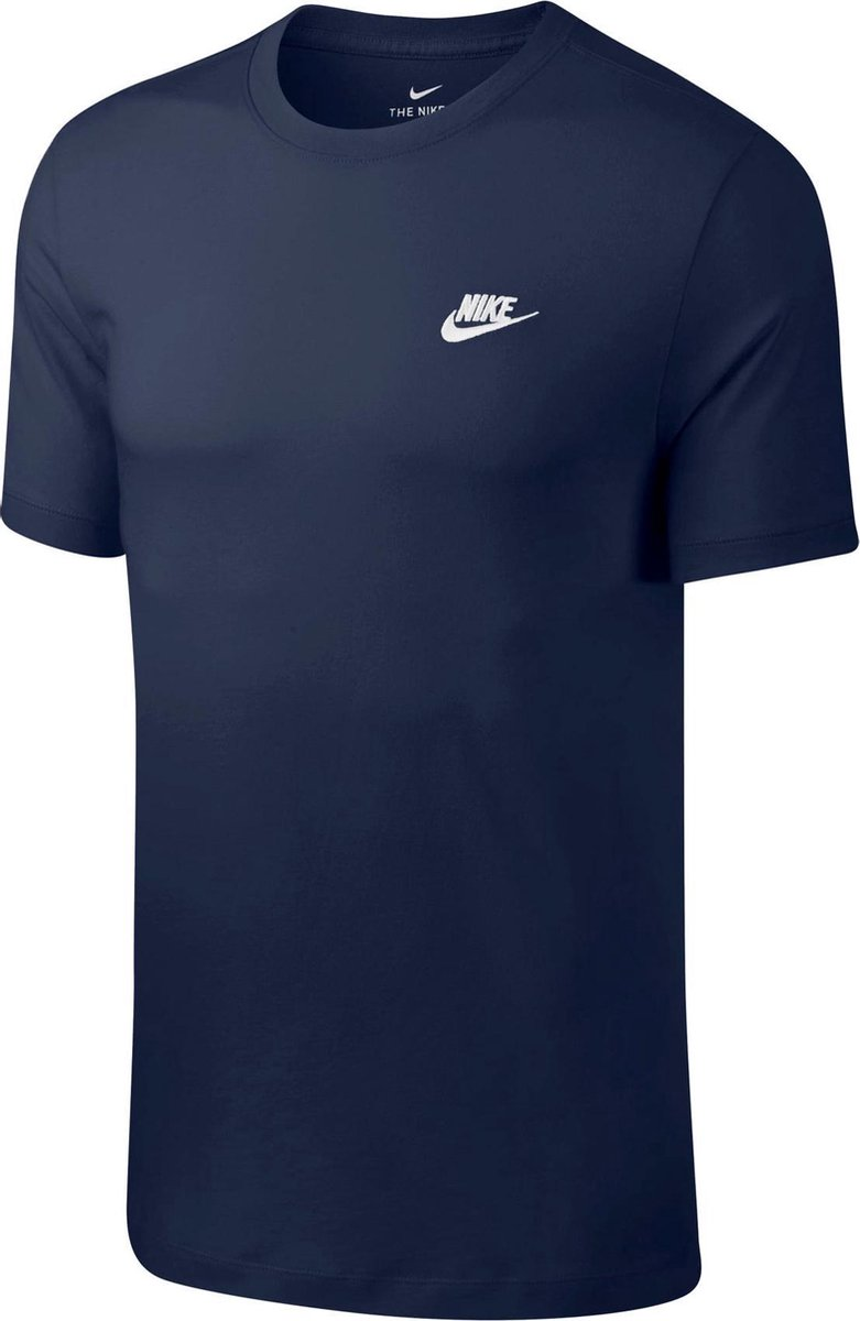 Nike Sportswear Club T-Shirt Heren - Maat M