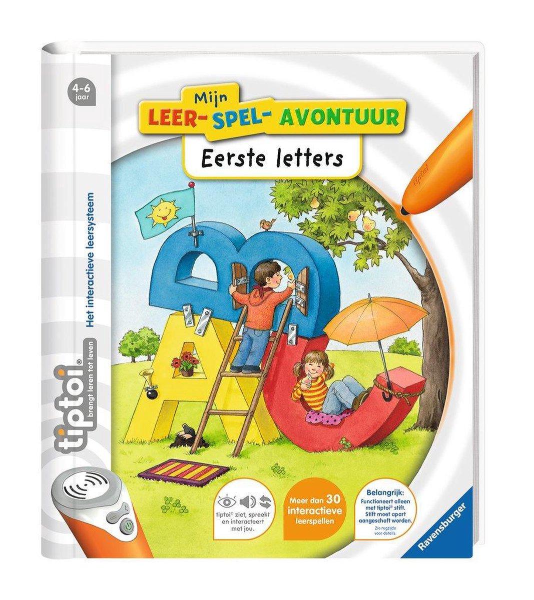 Ravensburger tiptoi® boek Mijn leerspel Avontuur Eerste letters