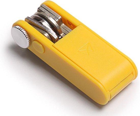 Walter Wallet Keyboss Signal Yellow - Duurzaam ABS Plastic - Sleutelhouder - Key Boss
