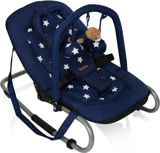 Product: Wipstoel Baninni Blue Star (incl. speelboog), van het merk Baninni