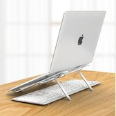 Verstelbare Ergonomische Laptop/Notebook Standaard Universeel - Lichtgewicht laptop Apple Macbook Pro/Air, iPad, Asus, HP, ACER, Microsoft, Lenovo, Windows - Tablet Steun Opvouwbare Stand - 13, 14 , 15, 16, 17 inch
