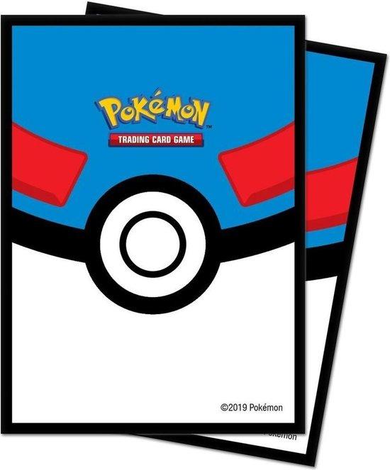 Afbeelding van het spel Pokemon TCG Great Ball Deck Protector Sleeves