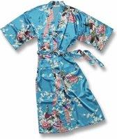 TA-HWA Kimono met Pauw Motief Dames Kimono