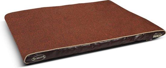 Scruffs Hilton Memory Foam Hondenkussen - L- Chocolade Bruin