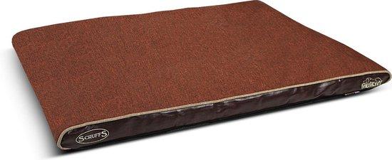 Scruffs Hilton Memory Foam Hondenkussen - M - Chocolade Bruin