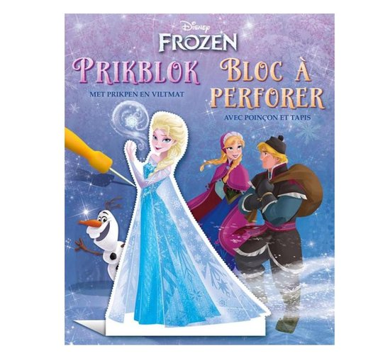 Disney Prikblok Frozen / Disney Bloc à perforer Frozen - none |