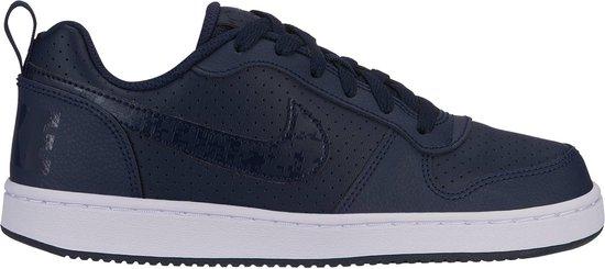 Nike Court Borough Low (Gs) Kids Sneakers - Zwart - Maat 35.5