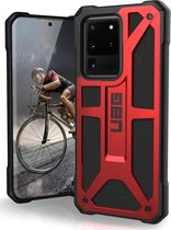 UAG Monarch Backcover Samsung Galaxy S20 Ultra - Crimson Red