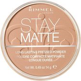 Rimmel London Stay Matte Pressed Powder 010 Warm Honey