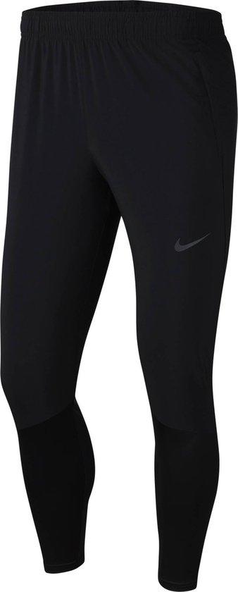 Nike Essential Hyb Pant Heren Sportbroek - Black/Reflective Silv - Maat L