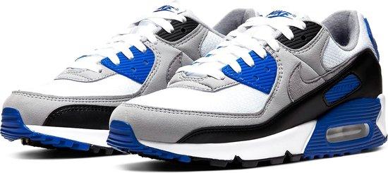 Nike Sneakers - Maat 42.5 - Mannen - wit/grijs/blauw/zwart