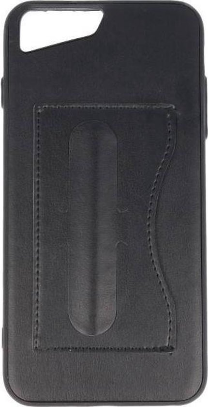 Wicked Narwal | Standing TPU Wallet Case voor iPhone 8 Plus / 7Plus Zwart