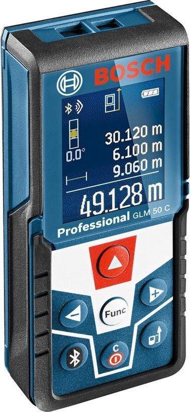 Bosch Professional GLM 50 C - Afstandsmeter - Tot 50 meter - Verlichte display