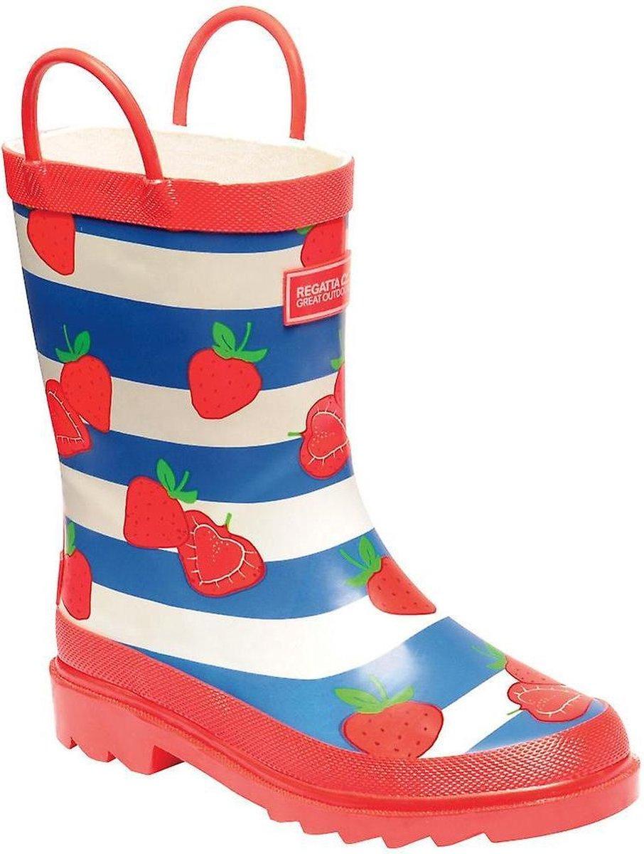 Regatta Kids Minnow Printed Wellington Boots Laarzen Kinderen Maat 38 Rood