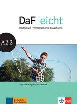 DaF Leicht A2.2 Kurs- und Übungsbuch + DVD-ROM
