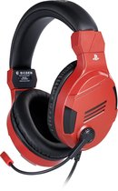 Official Licensed Playstation Stereo Gaming Headset V3 - PS4 & PS5 - Rood