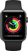 Apple Watch Series 3 - Smartwatch - 38mm - Spacegrijs