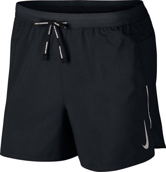 Nike Dri-Fit Flex Stride Heren Sportbroek - Black/Reflective Silv - Maat XXL