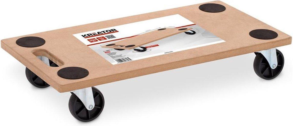 Kreator KRT670001 Transporthulp - tot 200 kg