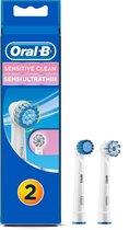 Oral-B 1x Sensitive Clean & 1x Sensi Ultrathin - Opzetborstels