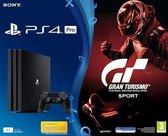 Sony PlayStation 4 Pro Console + Gran Turismo Sport - 1TB - Zwart