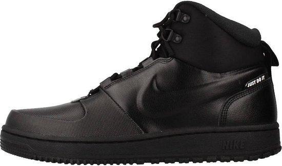 Nike Path Wntr Heren Sneakers - Black/Black-Mtlc Pewter - Maat 40
