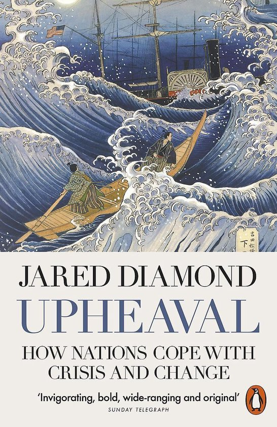 Boek cover Upheaval van Jared Diamond (Paperback)